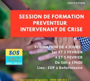 SOS KRIZ souhaite agrandir son équipe de préventeurs bénévoles