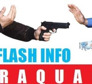 Info FLASH INFO #GUADELOUPE. Vol à main armée dans une boutique d'Orange, située boulevard de Houelbourg/Jarry.