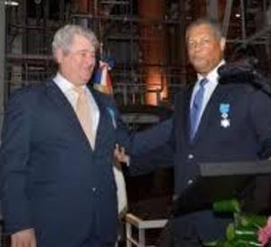 Jean-Paul JOUANELLE médaillé de chevalier de l'Ordre National du Mérite,