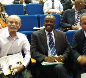 Le président Alfred MARIE JEANNE a la XIIème conférence de Coopération Régionale en Guyane.