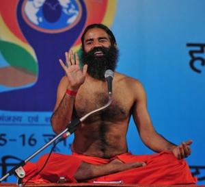 Patanjali la marque du maître de yoga Baba Ramdev