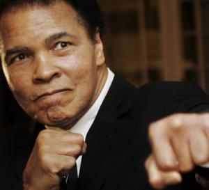 Mohamed Ali au tapis!