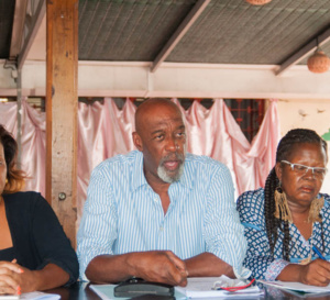Les photos de la conférence de presse: EPMN APRES 6 MOIS A LA CTM Par Serge BOISSARD photographe de presse. e