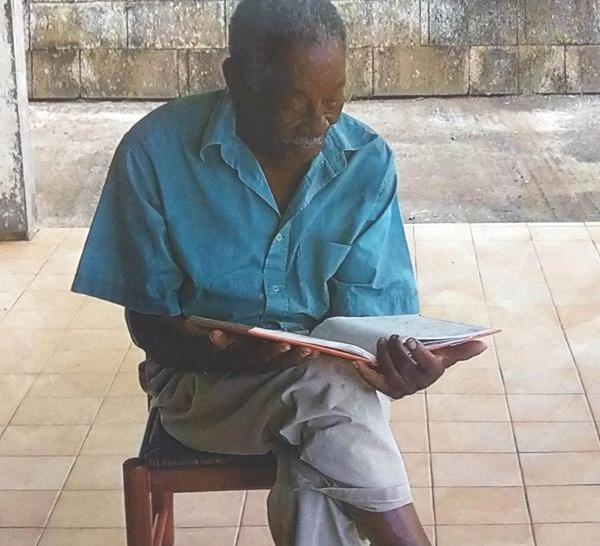 Âge de 90 ans,  plus de nouvelles de sa part. Il a quitté son domicile à Cadette à LE VAUCLIN