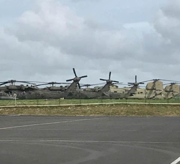 [DOMINIQUE] US ARMY affecte  8 énormes hélicoptères pour les secours !