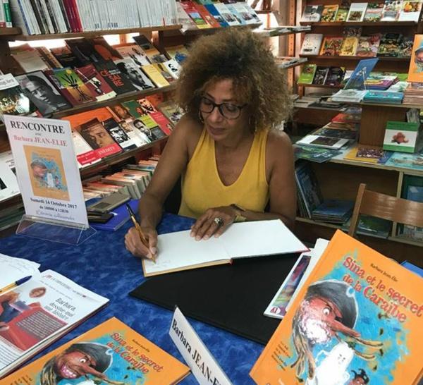 Prix Fetkann Maryse Condé catégorie jeunesse 2018 pour Sina et le secret de la Caraïbe  pour Barbara Jean Elie