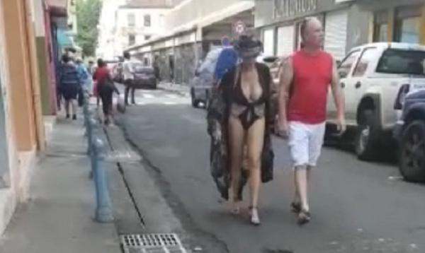 Une touriste se fait buzzer en MARTINIQUE