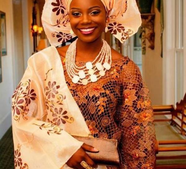 Robe de mariée africaine... De nouvelles idées pour surprendre !
