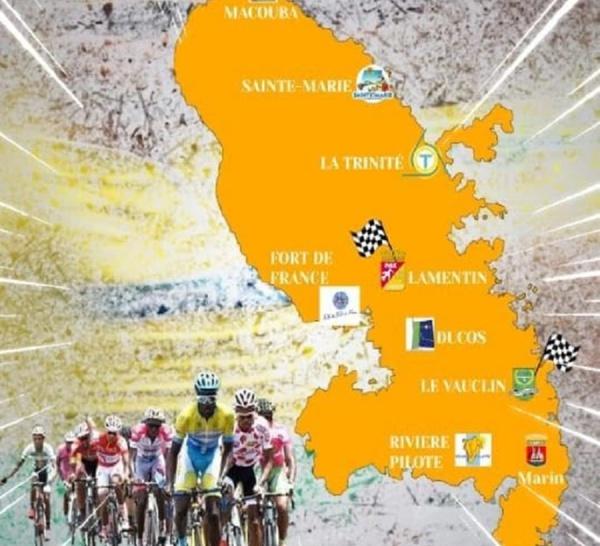 Voici l'affiche du tour Cycliste 2018