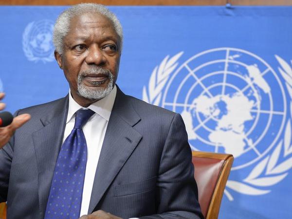 Kofi Annan, l'ancien secrétaire général de l'ONU et prix Nobel de la paix, est mort à l'âge de 80 ans