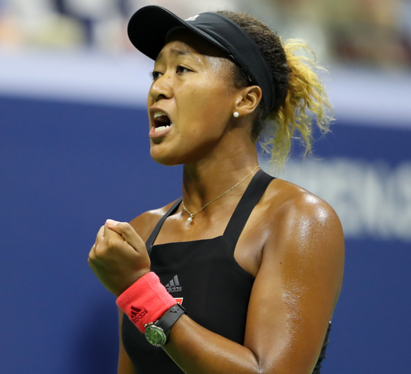 Une étoile montante: Naomi Osaka la première joueuse de tennis née au Japon !