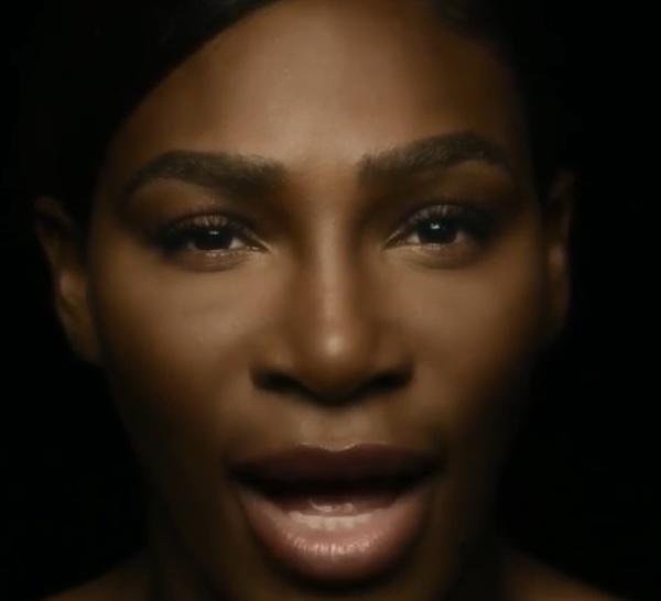 """Une vidéo pour """"rappeler aux femmes de réaliser régulièrement un auto-examen"""".By Serena Williams"""