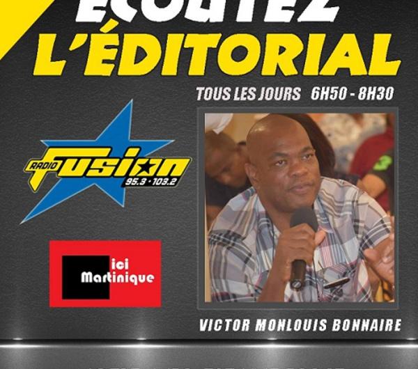 Editorial du Jour /Claude Lise dit qu'il faudra que les élus de la CTM  prennent leur responsabilité.