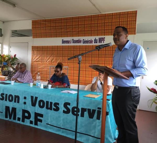 Le François: Le MPF a deux candidats à la candidature des municipales 2020