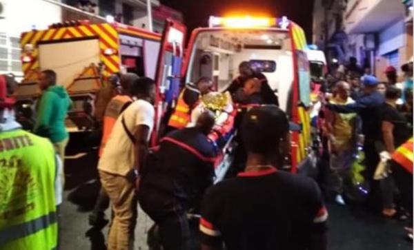 Parade nocturne de Basse-Terre vient d'être annulée pour cause d'accident