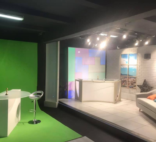 Lumina TV a inauguré ce 04 Avril 2019 son plateau TV..