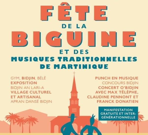 4 mai : La fête de la biguine et des musiques traditionnelles.