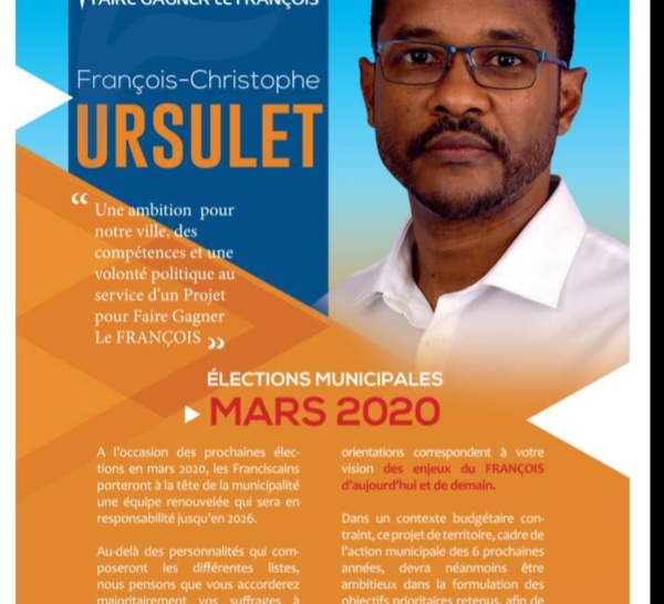 Municipales 2020 François... Un quatrième candidat !