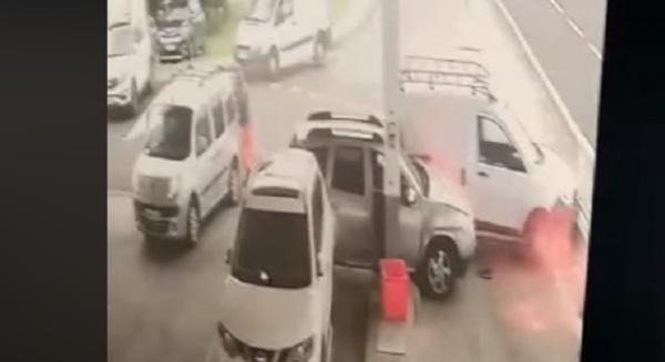 La vidéo de l'accident de la station Vito Aéroport