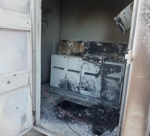 Un poste de distribution d'électricité situé aux Trois-Ilets a été détruit par un incendie criminel
