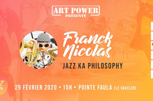 JazZ à la PoiNTe invite Franck Nicolas.