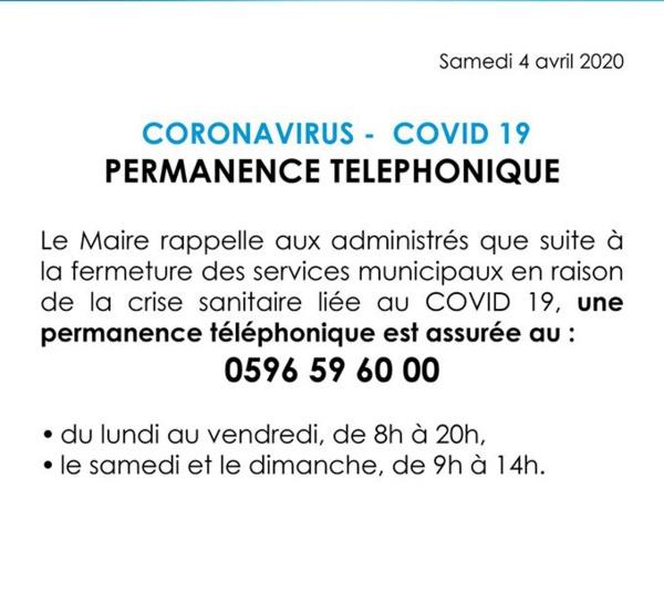 Covid 19 - Martinique - Fort-de-France/ les dispositions en vigueur dans la ville capitale.