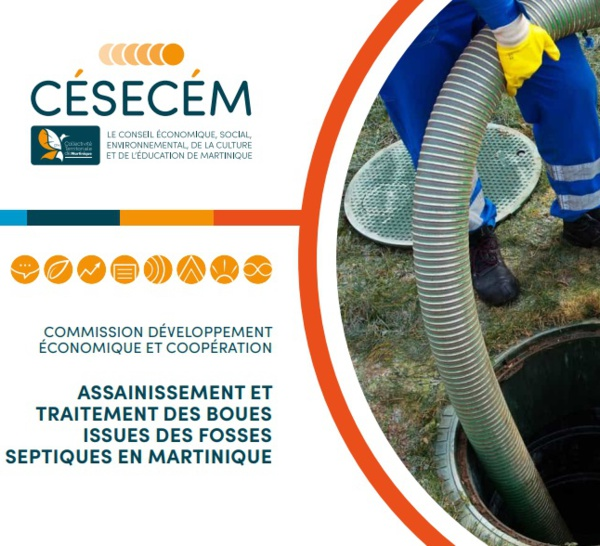 La Commission Développement économique et coopération du CÉSECÉM a rédigé un rapport sur l'assainissement.