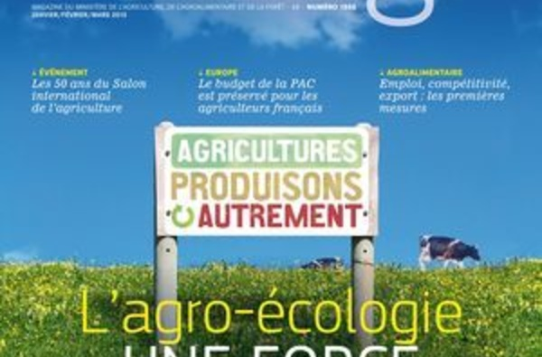 L'agro-écologie, une force pour la France! Est ce possible aux Antilles? Un dossier complet ( lu pour vous)