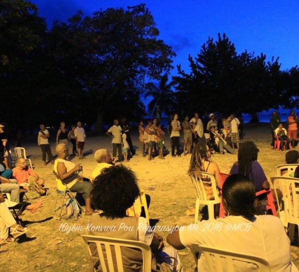 Konvwa pou Réparasyon : Marches et commémorations: demandez le programme