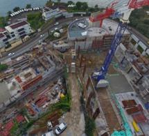 Du point de vue des réalisation le Lycée Shoelcher  avance à grand pas; Pour bien découvrir cliquez sur la photo