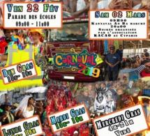Programme carnaval de Saint Pierre 2019