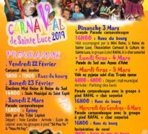 Programme carnaval de Sainte-Luce  2019