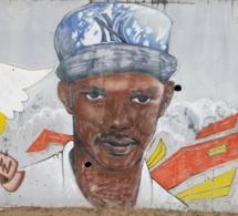 Fresque réalisée dans le quartier
