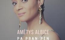 Amétys Albice Voix resplendissante et percutante !