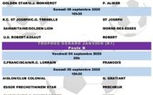 Calendrier des rencontres de foot à partir 4 septembre 2020